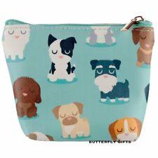 Handy PVC Zip Up Coin Purse - Sharks Head Dog Squad Travel - Handbag Make Up