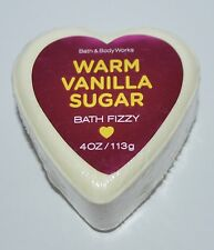 BATH & BODY WORKS HEART WARM VANILLA SUGAR BATH FIZZY BOMB 4 OZ FIZZ ME + YOU