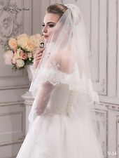 New Wedding Veil ''Jane'' from NYC Bride, made in Europe