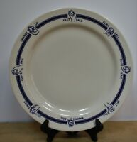 Homer Laughlin China, Baseball theme restaurant ware platter/large dinner plate,