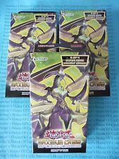 Yu-gi-oh 3 x Maximum Crisis Special Editions English NEW BNIB