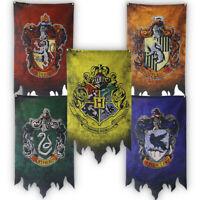 Harry Potter House Banner Flag Gryffindor Slytherin Ravenclaw Hufflepuff 70x120