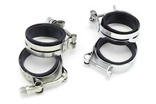 Twin Power 71996S2 OE Style Intake Clamps - Chrome