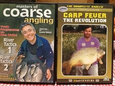 2 DVD Bundle - Masters of Coarse Angling & Carp Fever the Revolution