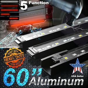 Tailgate Light Bar for Ford Chevy 60 inch Heavy Duty Rigid Aluminum Frame