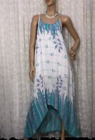 LUKA SIZE 10 HIGH LOW MAXI DRESS