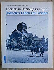 STORY OF JEWS IN HAMBURG YIZKOR HOLOCAUST HUGE BOOK GERMAN GEDENKBUCH 1991