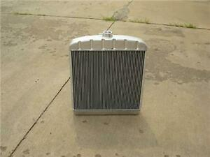 """Griffin Aluminum Rat Rod Radiator 22"""" Tall 19"""" Wide 1928 30 31 Ford W/Trans Cool"""