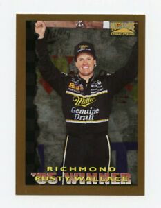 RUSTY WALLACE 1996 RACERS CHOICE GOLD ARTIST PROOF PARALLEL INSERT CARD #82 AP