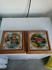 Decorative Tiles Set Of 2