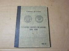 Vintage New Old Stock Library of Coins Standing Liberty Quarters 1916-1930 Album