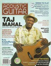 Acoustic Guitar magazine December 2006 Taj Mahal
