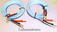 NEW Van Den Hul- The Skyline Audio Speaker Cables 2x 2.5m (A Pair)   Terminated