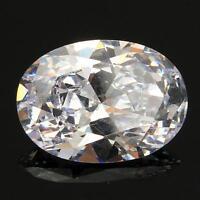 13X18MM Beautiful White Sapphire Oval Shape Lustrous Loose Gemstone Gem Stone