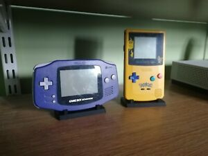 Display Stand For Gameboy Handheld compatible with advance/sp/colour/pocket