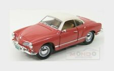 Volkswagen Karmann Ghia 1966 Rose White Lucky Diecast 1:18 LDC92198ROSE