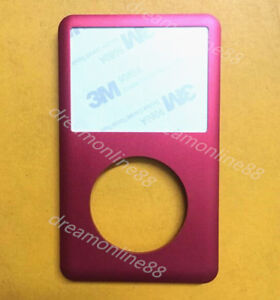 New red  front faceplate cover for ipod classic 7th gen  160GB