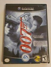 James Bond 007: Everything or Nothing (Nintendo GameCube, 2004) CIB FUN GAME