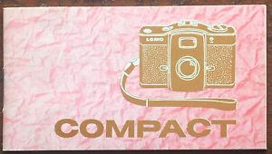 Lomo Compact  - Anleitung russisch