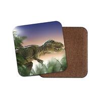 T-Rex Dinosaur Drinks Coaster - Kids Jurassic Cool Boys Tyrannosaus Gift #8517