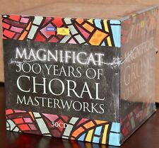 DGG / DECCA 50-CD Box Set: MAGNIFICAT - 500 Years of Choral Masterworks - SEALED