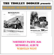 Vintage 1950s Northern Pacific Steam Audio on CD - Railroad Record Club #SP2