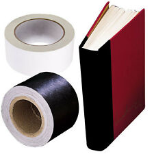 "Book Repair (WHITE) tape. 2"" X15 yards Self Adhesive by LINECO,  (Bin 2133-W)"