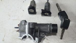 Zündschloss, Lenkradschloss + 2 Türzylinder Skoda Fabia 6Y Teile Nr.  4B0905851C