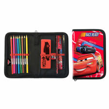 Disney Pixar Cars 3 Filled Zip Pencil Case - Lightning McQueen Stationery Set