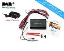 Dension DAB+ A ANGOLARE Radio ricevitore + zemex Antenna FM Trasmettitore AUX