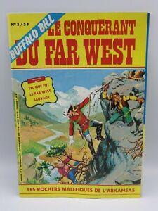 Magazine BD buffalo bill le conquerant du far west album n°3 Les rochers .. VF
