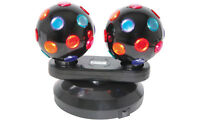 Dual Rotating Disco Balls, Free Standing Party Disco Event