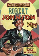 GUITAR OF ROBERT JOHNSON 3-DVD Set Video DELTA BLUES Lessons With Tom Feldmann