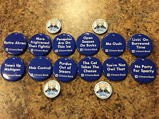 2006 Penn State Citizens Bank Football Button/Pin Complete Set & 4 Rare Extras