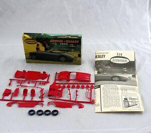 Vintage Aurora Austin-Healy 3000 Model Car Kit in Original Box 1/32  #516-50