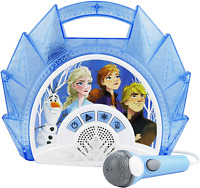 Frozen 2 Singalong Boombox Karaoke with Microphone