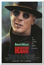 HUDSON HAWK -1991- original 27x40 MOVIE POSTER- nice item for BRUCE WILLIS fans