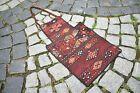 Fabulous Antique Cicim Kilim Salt Bag 14'' x 22'' Caucasian Collector's Piece