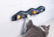 Track Toy Ball Pet Window Table Tennis Adsorption Glass Cat Toy Plastic Sucker