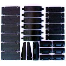 Lego Technic - Black Studless Panels Fairings Bricks - 27 Parts - NEW