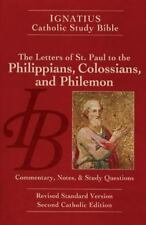 Ignatius Catholic Study Bible: The Letters of Saint Paul to the Philippians, the