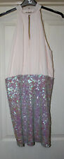 BNWT ASOS Sequin Mix Dress, Size 12 Tall - Lovely!