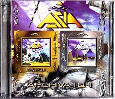 ASIA: Archiva I & II -2 Original Albums On 2-CD RARE (Includes Concert Ticket)