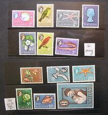 St Helena 1961 Scott 159-72 (missing Scott 166)  MNH CV $74 HZB