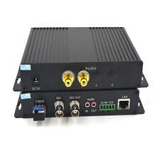 HD-SDI Video/Audio/Ethernet Fiber Optical Media Converters TX / RX, LC 1310/1550