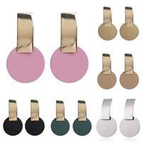 Jewelry 2019 Metal Boho Dangle Geometric Fashion Women Earrings Modern Statement