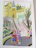FANTASIO A. de Musset POCHOIR hand colored  Ltd 1/550 FREDERIC WARDE design 1927