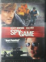 Spy Game (DVD, 2002, Full Frame Collectors Edition) Brad Pitt Robert Redford