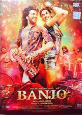 BANJO DVD 2016 HINDI MOVIE DVD / REGION FREE / SUBTITLE / RITESH DESHMUKH NARGIS