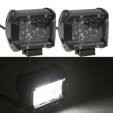 "2x 30W 4"" Cree LED Work Light Bar Flood Offroad 4WD UTE SUV Fog Driving Lamp"